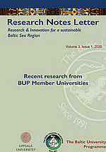 Research Notes Letter 1/2020