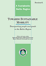 Towards Sustainable Mobility