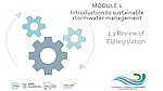 Integrated Stormwater Management, module 1
