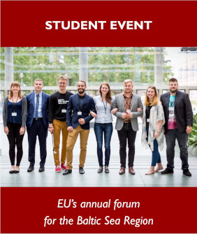 Student event poster. Annual Forum 2020